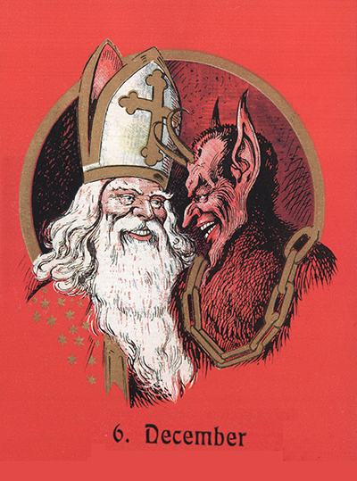 St. Nick and Krampus