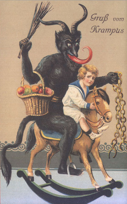 A vintage Krampus, via Krampus.com